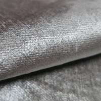 plain chenille 100% polyester sofa fabric