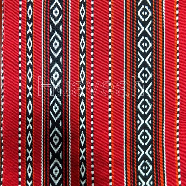 polyester jacquard sadu fabric