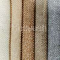 Polyester woven linen like fabric for sofa