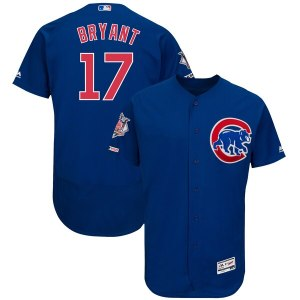Men's Chicago Cubs Kris Bryant Majestic Alternate  jersey soccer men puma