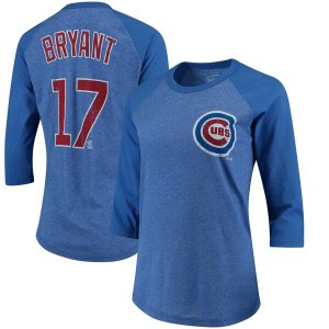 Women's Chicago Cubs Kris Bryant Majestic Royal Bl wholesale Milwaukee Brewers jersey
