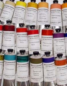 Williamsburg oils also buy by gamblin holbein winsor  newton daler rowney rh hyatts