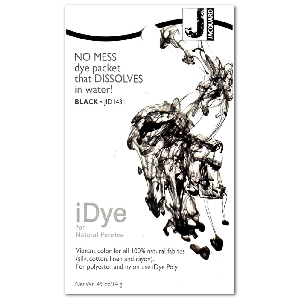 BUY Jacquard Idye Poly: Black