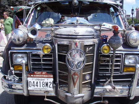 Photo of Clarke Bedford art car by Flickr user richardc020 http://bit.ly/18VchwT
