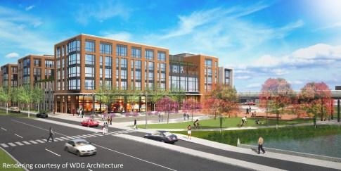 College Park Metro apartments retail