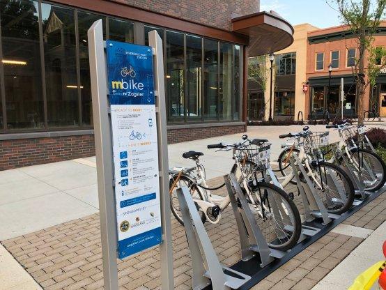 mBike Riverdale Park Station bike sharing Zagster