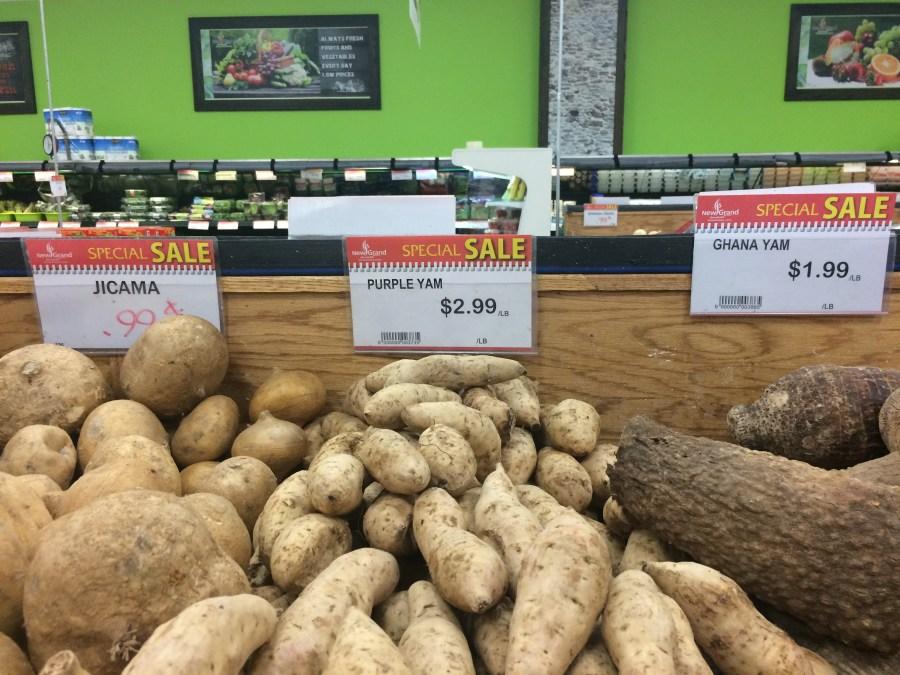 New Grand Mart Asian Latino grocery Hyattsville Langley Park