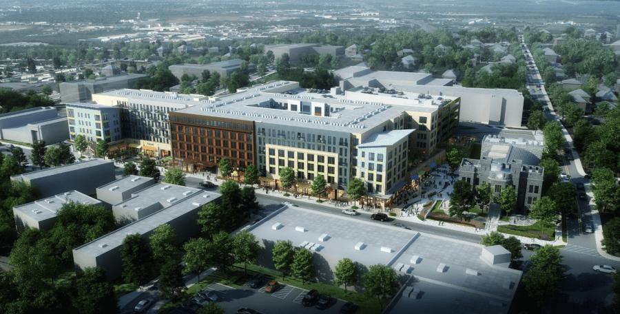 Hyattsville Armory Apartments Maryland housing retail