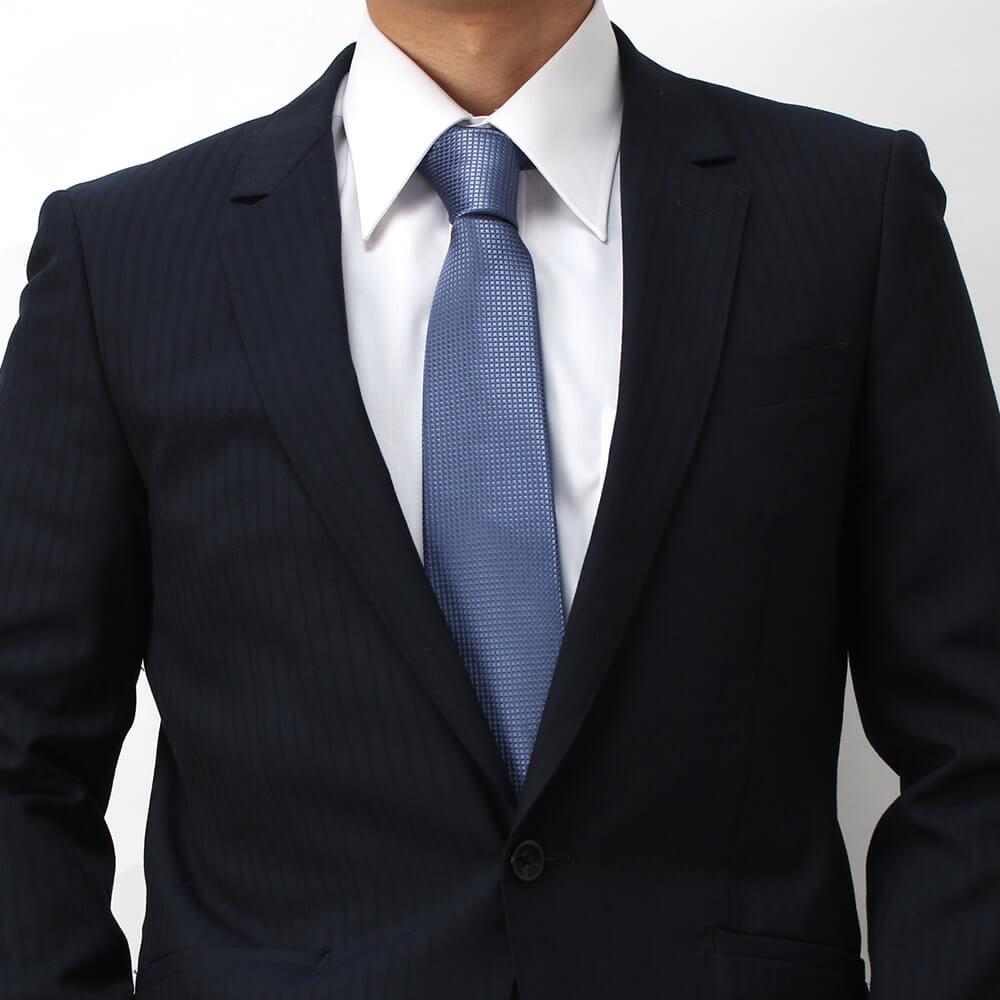 青 ネクタイ 成人式