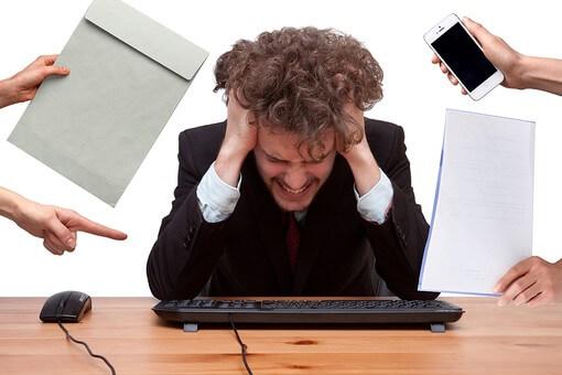 仕事や職場や会社でのストレス