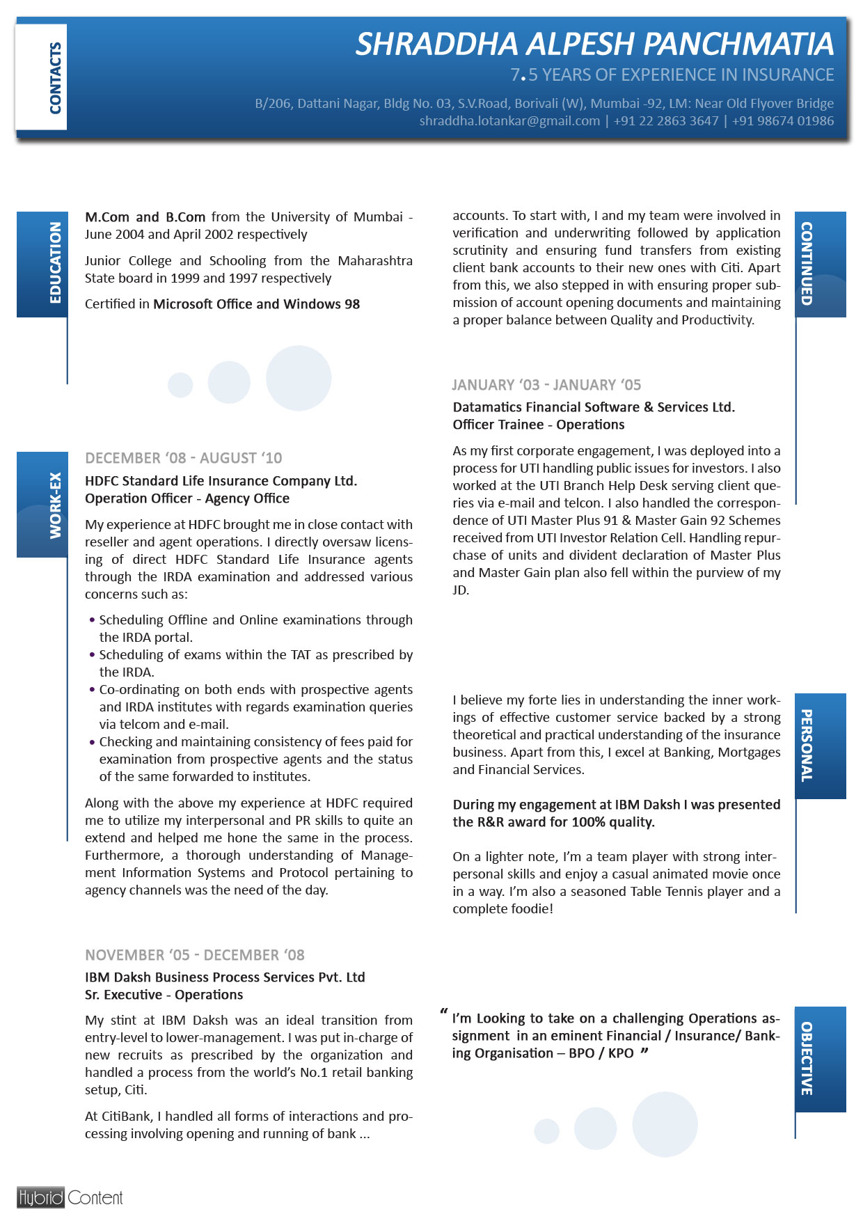 difference between cv and resume examples