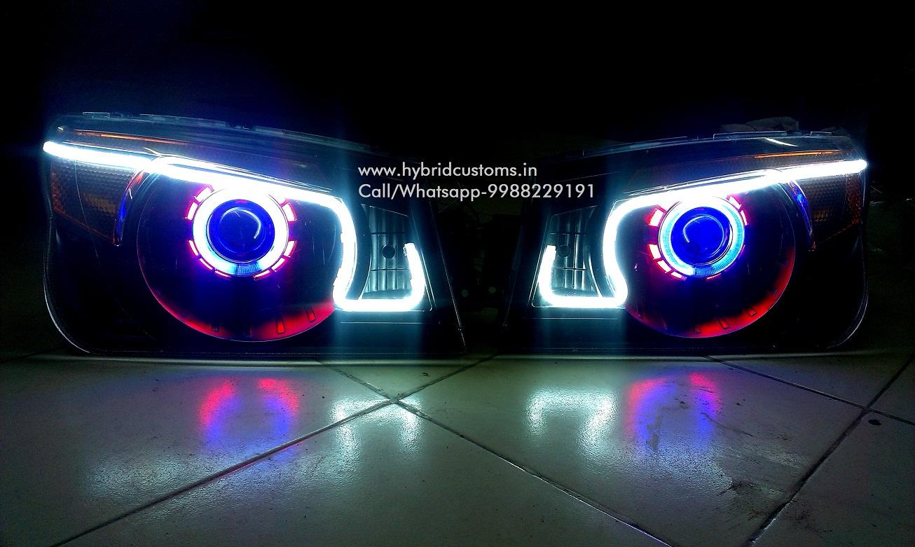 Mahindra Bolero Projector Custom Headlight Style3
