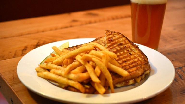 Grilled Chicken Saltimbocca Sandwich