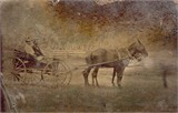 William Allen Hyde and bride Mary Ann Rice at Hawesville, KY 1856
