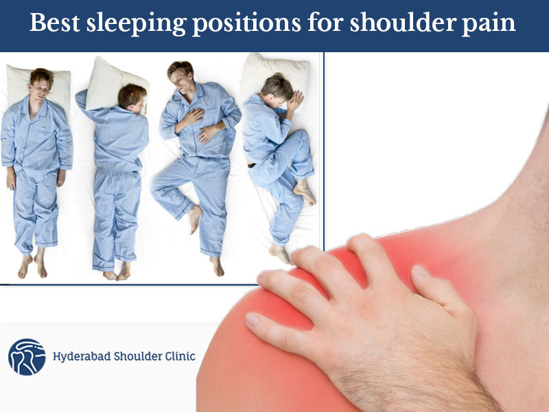 best sleeping positions for shoulder pain