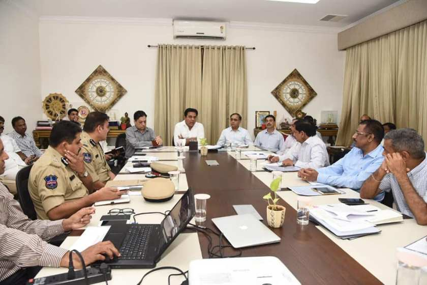 hyderabad updates, hyderabad it industry, it expansion, ktr meeting with officials