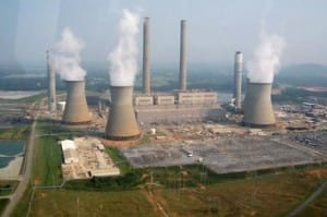 Coal fired power stations