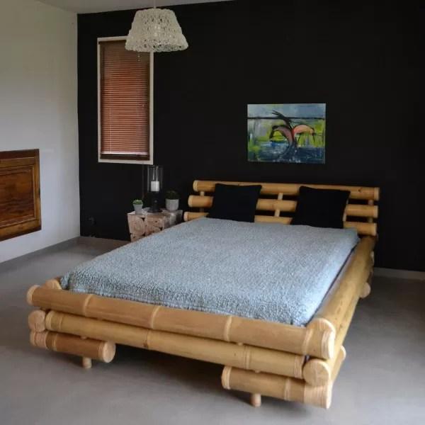 opal lit en bambou 140 190