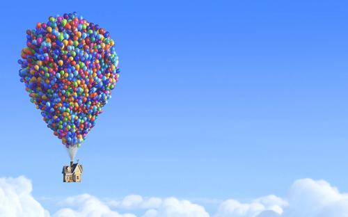 Pixar - Up up up and Away