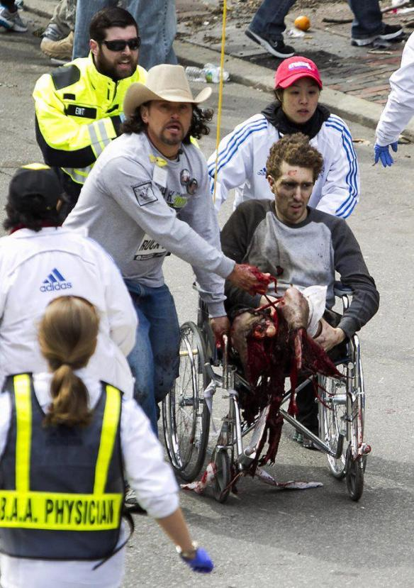 Carlos Arredondo Boston Bombings Hero