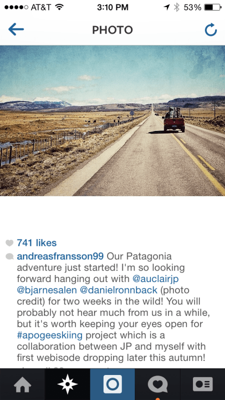 Andreas Fransson Final Instagram Post