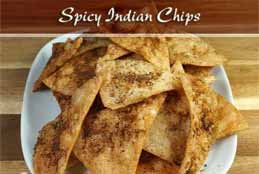 Quick & Easy Spicy Indian Chips Recipe For Snacking