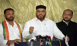 Congress Demands Enhancement Of Minorities' Quota In 2BHK Scheme