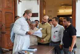 Asaduddin Owaisi On Meeting TUWJF Delegation Comes To Rescue Of Small Urdu Newspapers