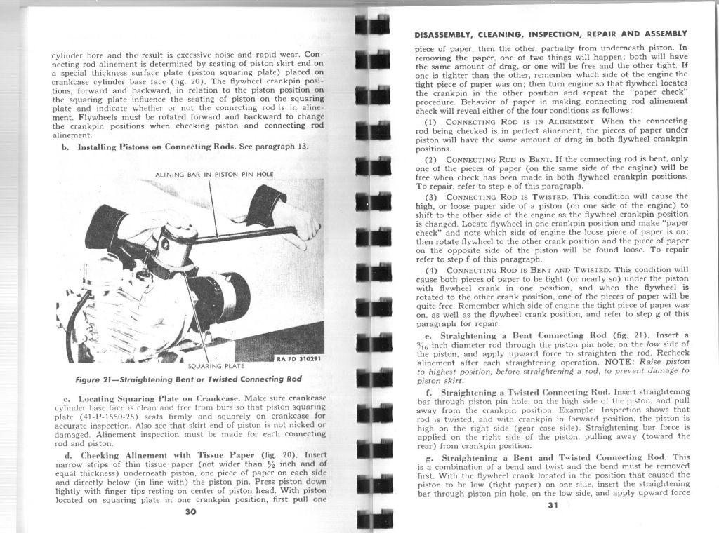 Chapter 2. Overhaul of Engine in Vehicle. Section III