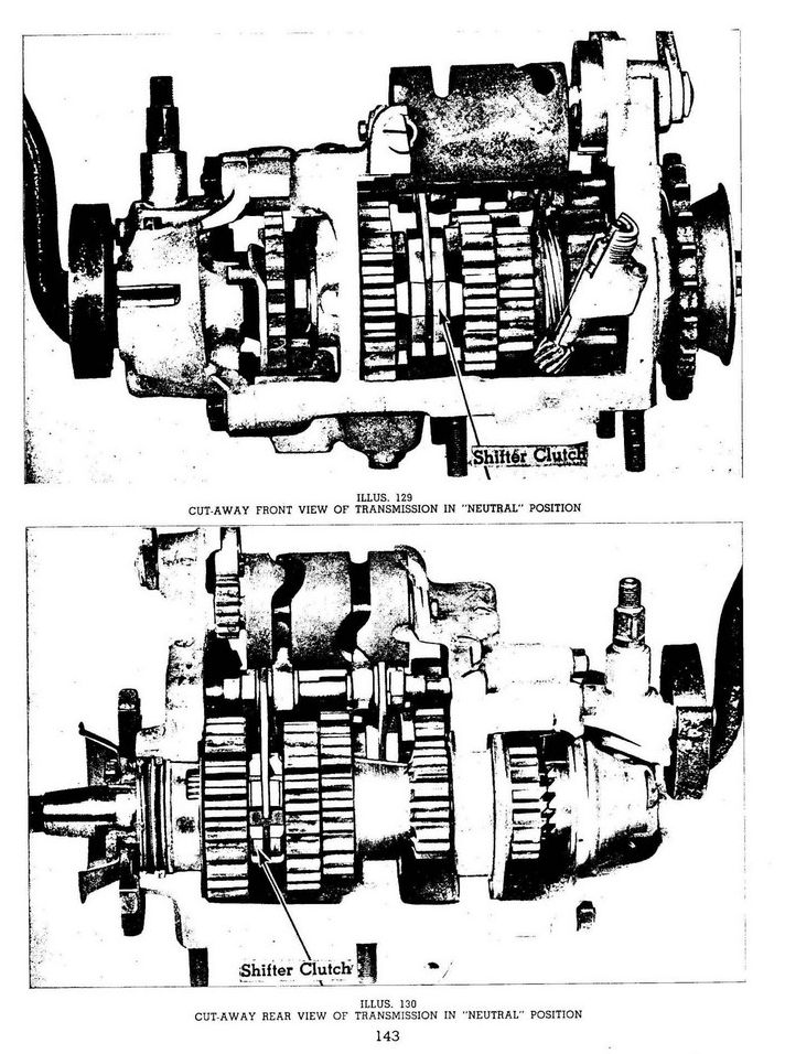 071. Overhauling Transmission and Clutch