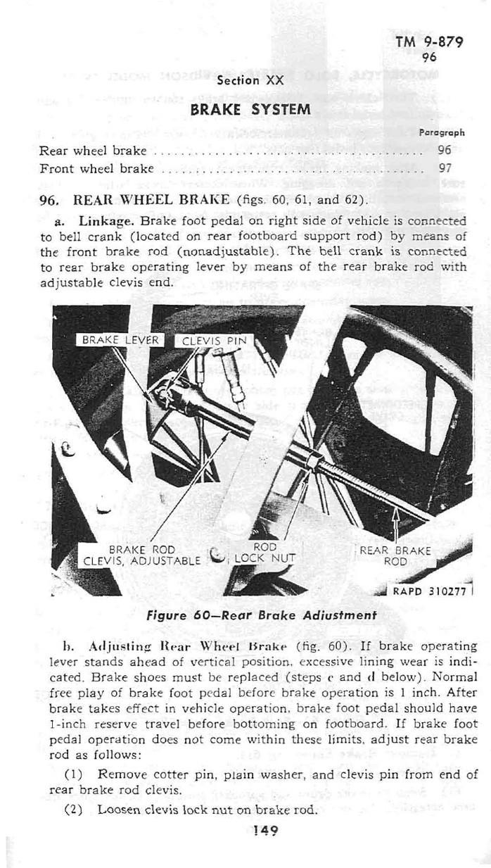 XX Brake system