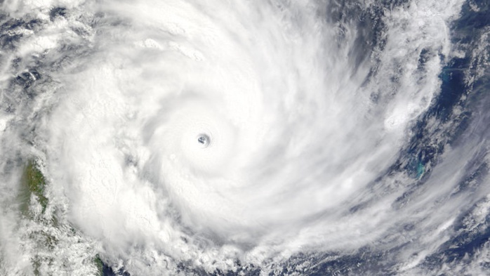 Cyclone Geralda in Mozambique caused torrential rain  as it hit Madagascar in 1994