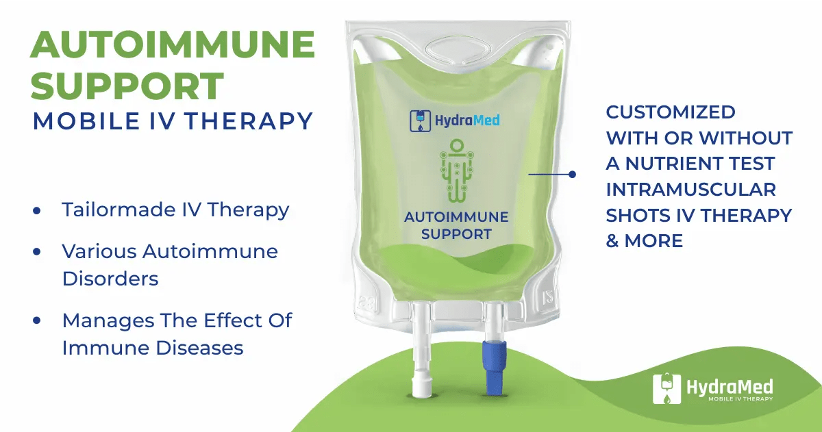 Autoimmune Disease - HydraMed Mobile IV Therapy