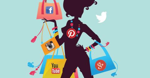 Resultado de imagen de moda redes sociales