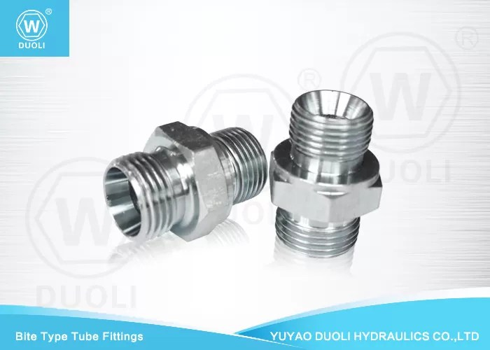 Straight DIN 24 Degree Cone Seat Bite Type Hydraulic Hose