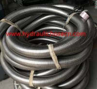 stainless steel flexible exhaust pipe 60 mm