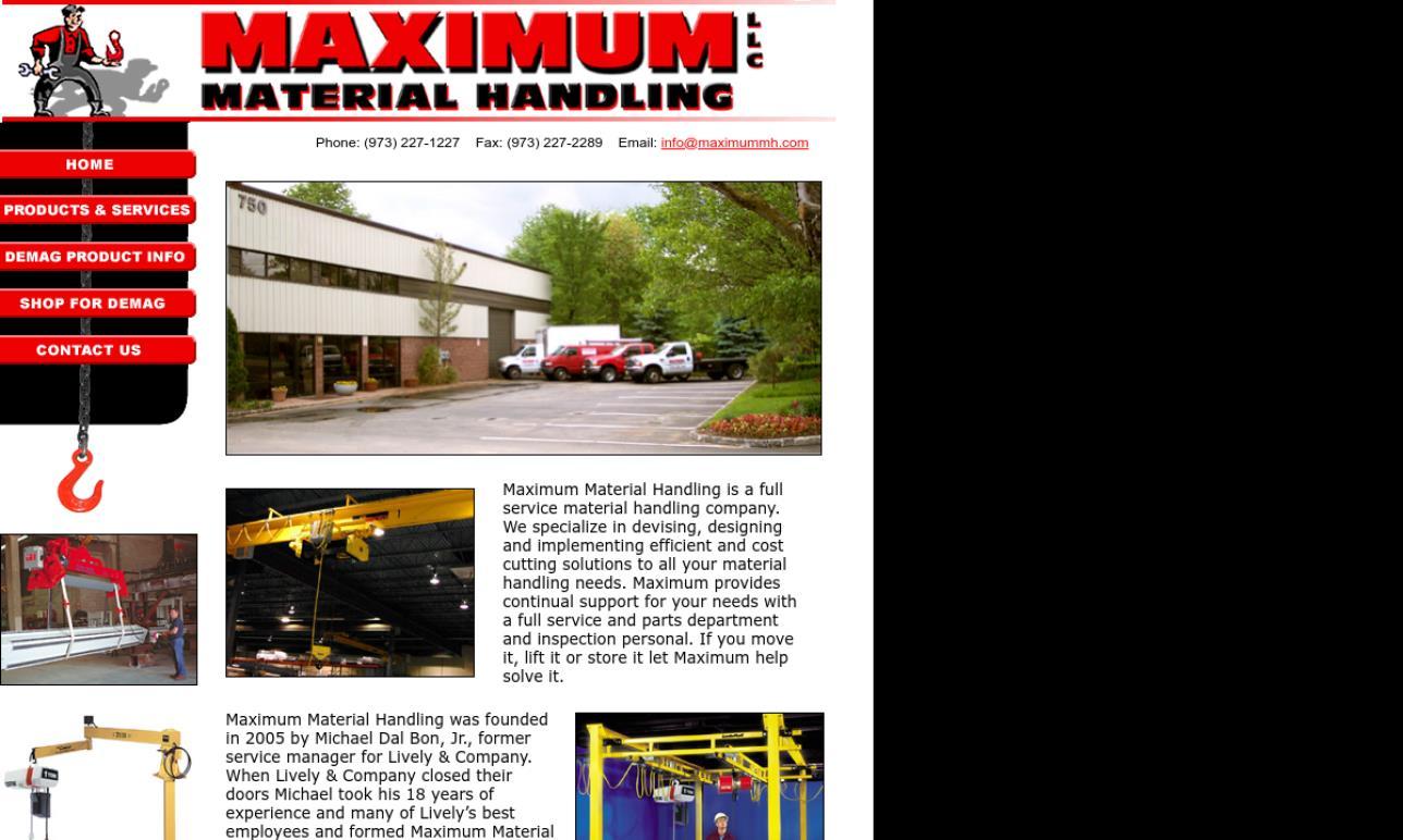 hight resolution of maximum material handling llc
