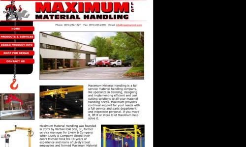 small resolution of maximum material handling llc