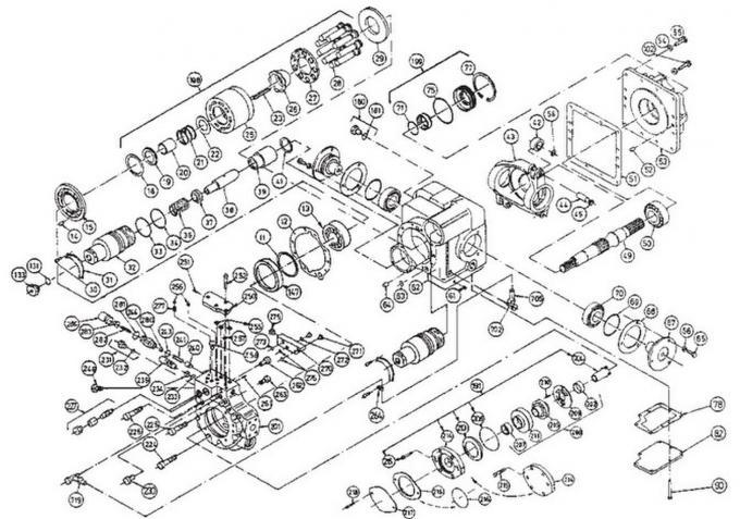 SPV6/119 Hydraulic Pump Parts