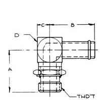 Hydraulic Adaptor /// 4601-20-16 ///$15.64 /// 1 (219) 464