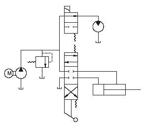 Schematic Hydraulic System