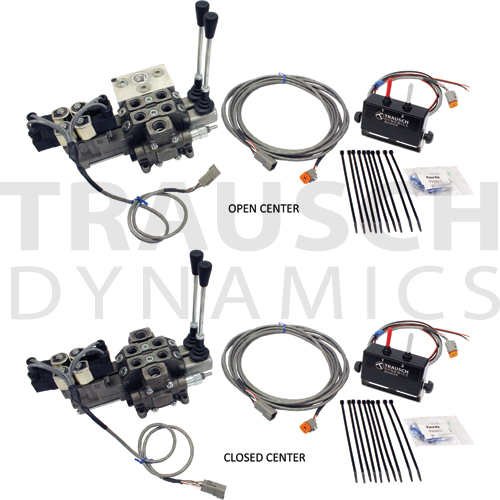 21 GPM 12 VDC ELECTRIC DIRECTIONAL VALVE W/ CONTROL KITS