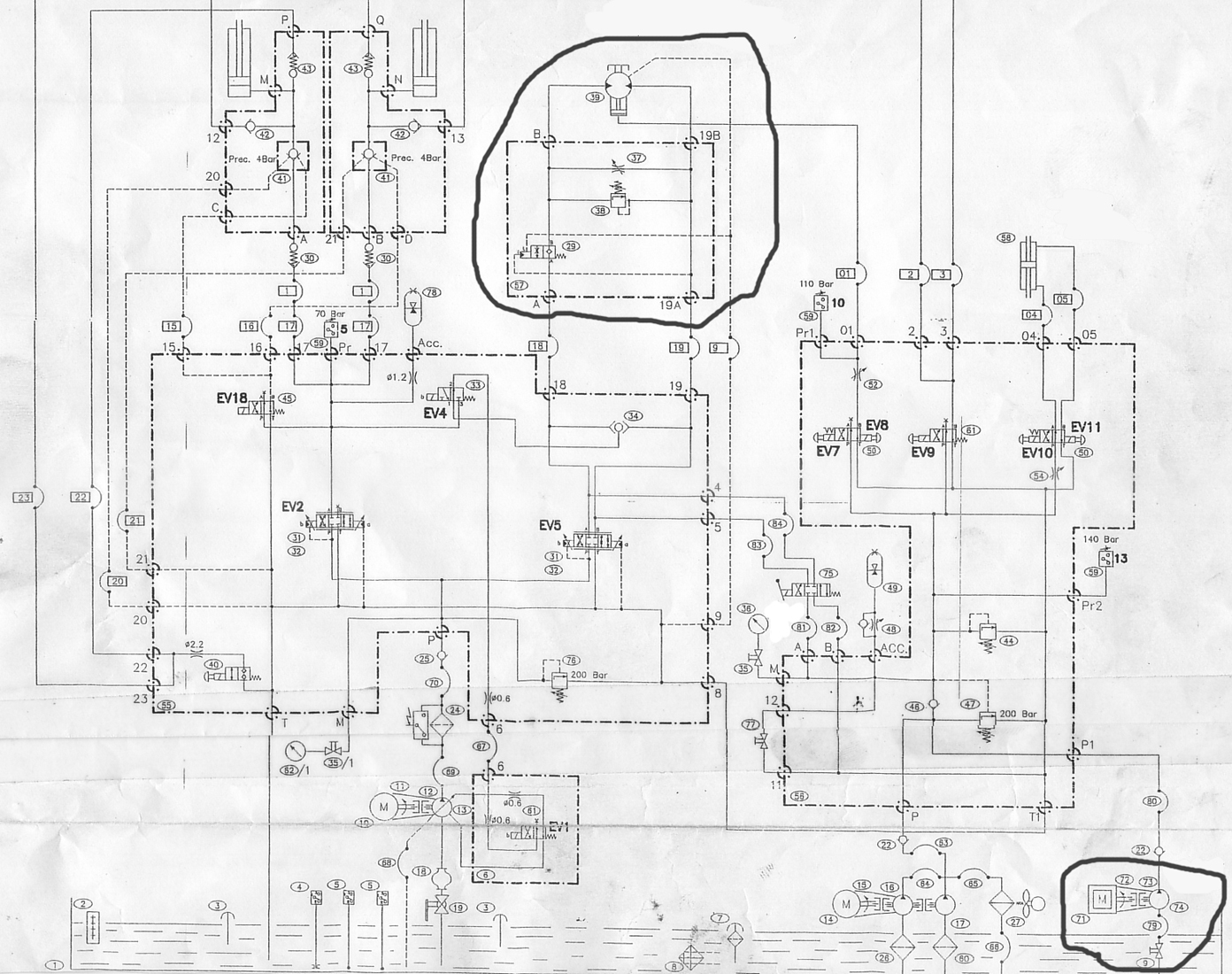 Pin Hydraulic Schematics Symbols Group Picture Image By