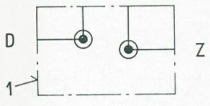 Symbol für Einzelunterplatten 45.10, 45.13 und 45.14