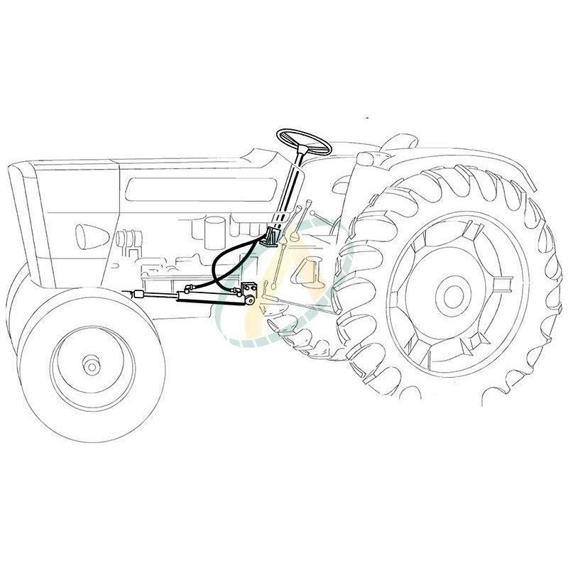 Direction hydrostatique pour FIAT SOMECA 400 400S 450
