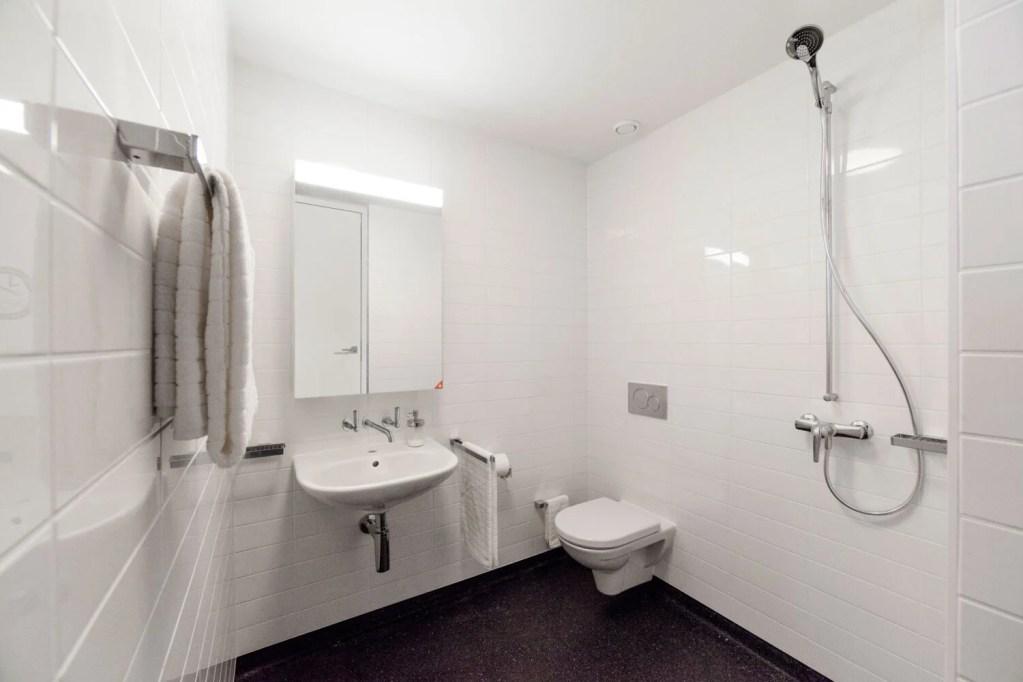 Bathroom in Hospital Cery