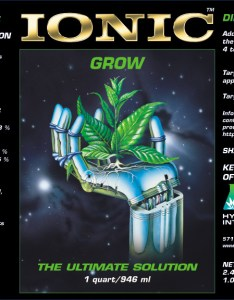 Ionic grow also plant nutrient for vegetative stage use rh hydrodynamicsintl