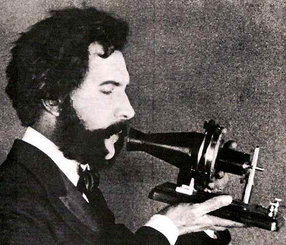 A G B with early telephone