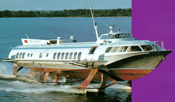 Russians have used hydrofoils for years.
