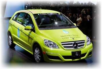 Merceds Benz - Hydrogen Fuel Vehicles
